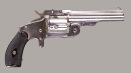 "SMITH & WESSON 38 SINGLE ACTION FIRST MODEL 1876 ""BABY RUSSIAN"" REVOLVER"
