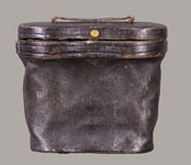 CIVIL WAR ERA BINOCULARS IN LEATHER CASE